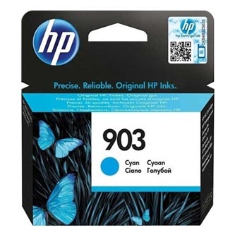 HP originál ink T6L87AE, HP 903, cyan, 315str., 4ml, HP Officejet 6962,Pro 6960,6961,6963,6964,6965,6966