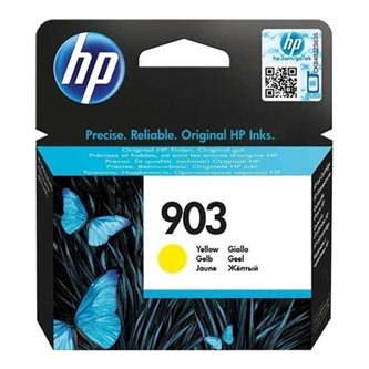 HP originál ink T6L95AE, HP 903, yellow, 315str., 4ml, HP Officejet 6962,Pro 6960,6961,6963,6964,6965,6966