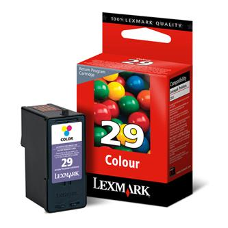 Lexmark originál ink 18C1429E, #29, color, return, Lexmark Z845, P350, Z1300, Z1320