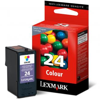 Lexmark originál ink 18C1524E, #24, color, return, Lexmark Z1420, X4530