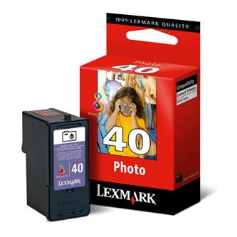 Lexmark originál ink 18Y0340E, #40, photo, Lexmark X9350
