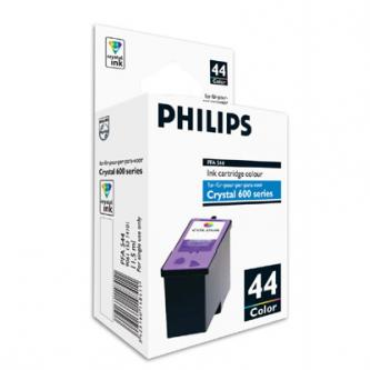 Philips originál ink PFA 544, color, 500str., 11,5ml, typ 44, Philips 650, 660, 665