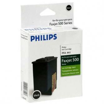 Philips originál ink PFA 441, black, 440str., 253014355, Philips Faxjet 520, 525, 555